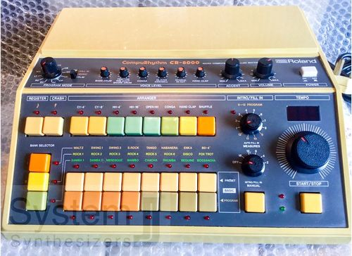 Roland CR-8000 CompuRhythm Vintage Analogue Drum Machine
