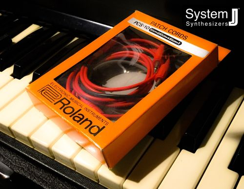 Roland PCS-10 Vintage Patch Cord Set System 100m