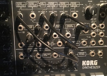 Korg MS-20, MS-10 Patch Cable Set