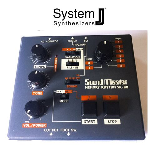 Sound Master Memory Rhythm SR-88 Vintage Drum Machine