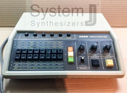 Korg Rhythm 55 Vintage Analogue Drum Machine KR-55