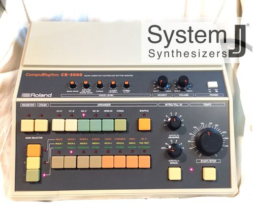 Roland CR-5000 CompuRhythm With Din Sync