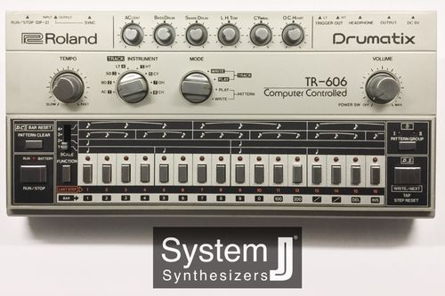 Roland TR-606 Drumatix Vintage Drum Machine *SOLD*