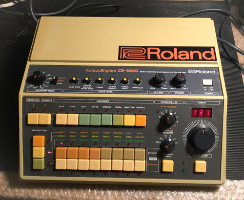 *SOLD* Roland CR-8000 CompuRhythm Vintage Analogue Drum Machine