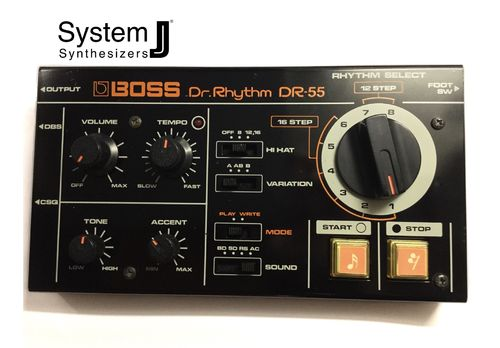 Boss DR-55 Dr Rhythm Vintage Analogue Drum Machine
